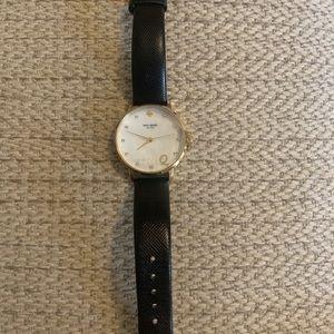 """Kate Spade Metro Monogram """"Q"""" watch"""